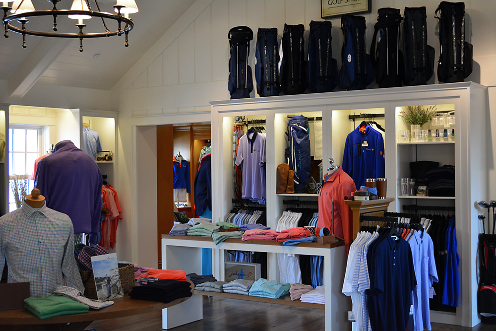 Golf Retail Display Fixtures by Sterling Grey