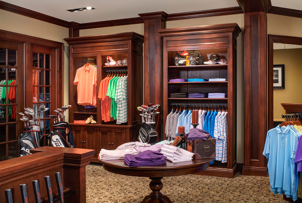 Golf Pro Shop Cabinetry & Woodworking