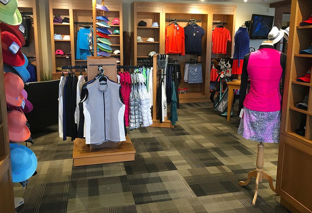 Golf Pro Shop Retail Fixtures
