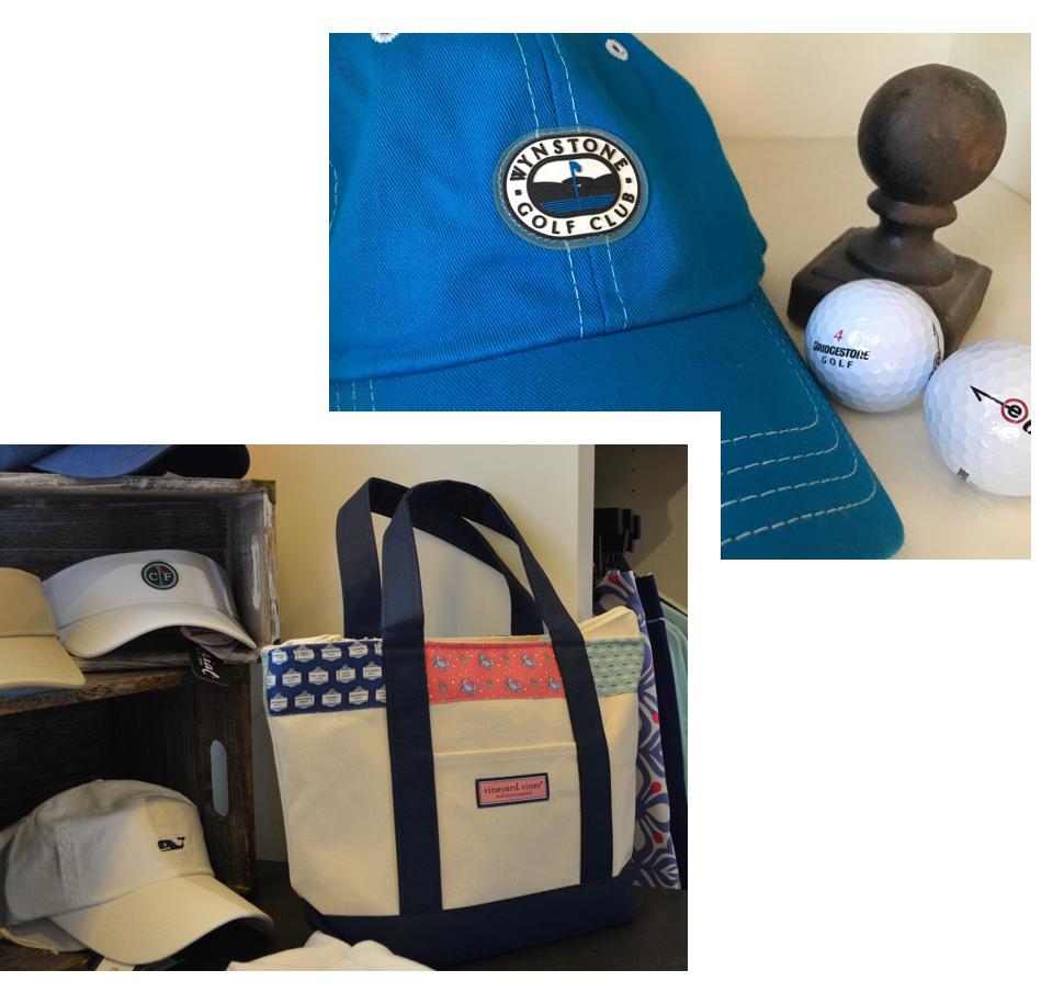 golf pro shop branding